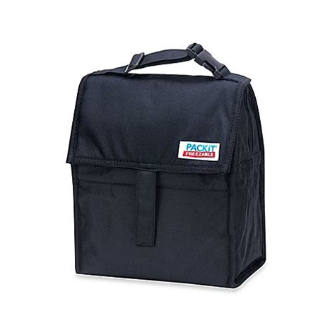Packit Freezable Carry All Lunch Bag Classic Polka Cooler Bag packit 174 freezable lunch bag bed bath beyond