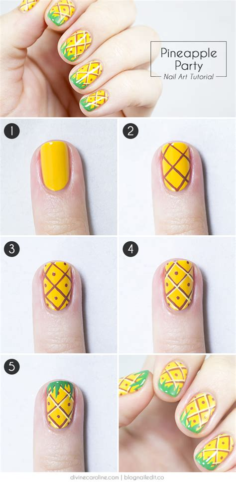 nail art tutorial wikihow 25 simple nail art tutorials for beginners