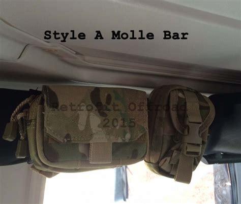 tactical jeep 2 door 2 door jk wrangler molle panel bar kit hard top