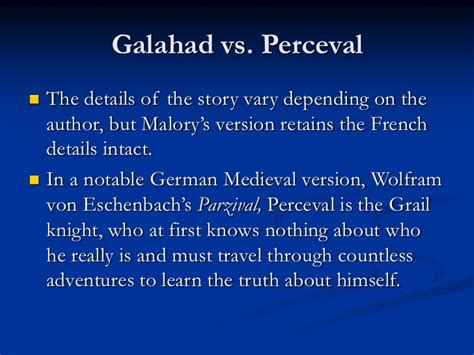 perceval the story of the grail books the development of the story of the holy grail