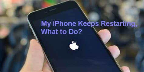 ways  fix  iphone  restarting constantly ios