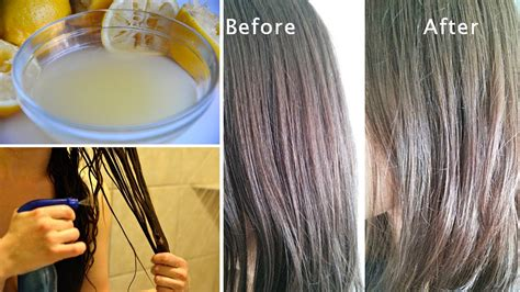 how to lighten up salt and pepper hair 8 natural ways to lighten hair at home youtube
