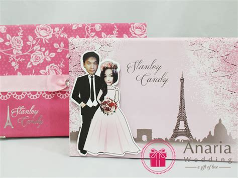 Dongeng Dunia Peri Buku Pilihan kartu undangan pernikahan unik elegan dan ekslusif