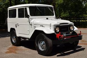 Toyota Land Cruiser For Sale Photos 1963 Toyota Land Cruiser Fj40 For Sale