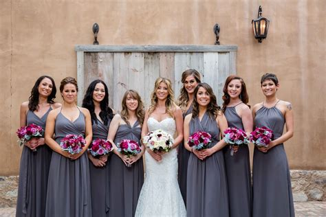 different color bridesmaid dresses mismatched bridesmaid dresses different dresses same