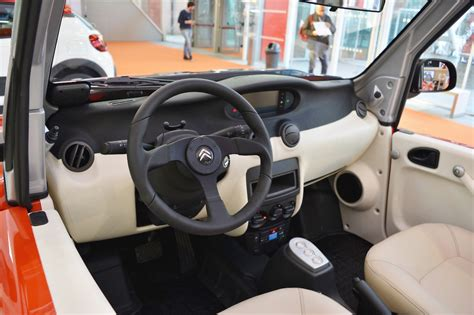 citroen mehari interior citroen e mehari interior at 2016 bologna motor