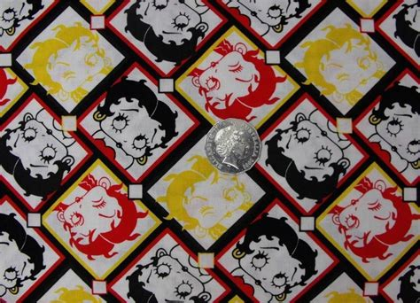 ebay quilting fabric patchwork country quilting fabric betty boop retro