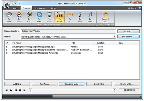 format audio converter 8 free audio converter software programs and services