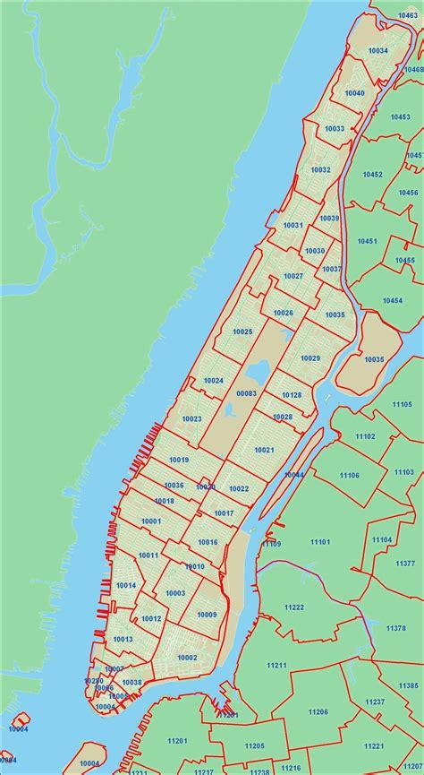 nyc zip codes  maps zip code map