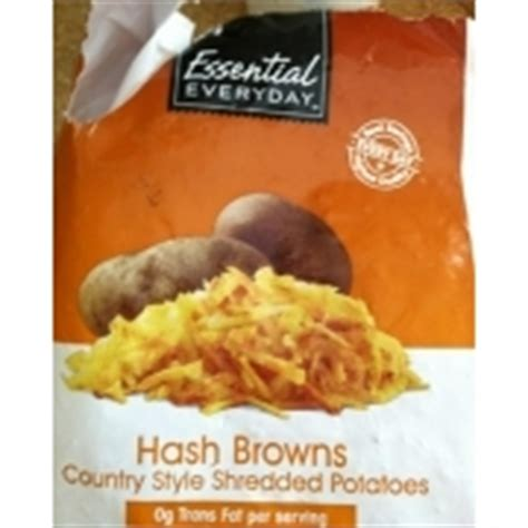country style hashbrowns essential everyday hash browns country style shredded