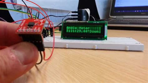 Meja Counter Per Meter analogue accelerometer and arduino angle meter