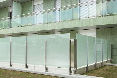 ringhiera per esterno ringhiere in acciaio e vetro per esterni