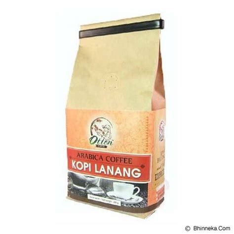 Kopi Mocca Arabica Biji 500 Gr jual otten coffee biji kopi arabica peaberry 200gr murah bhinneka