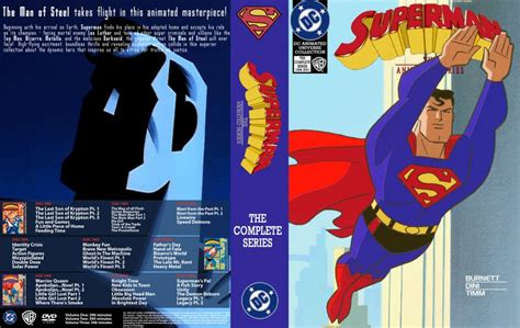 Tas Lomberg Handmade Indo Cover superman the animated series dvd custom covers superman tas 10 disc dvd covers