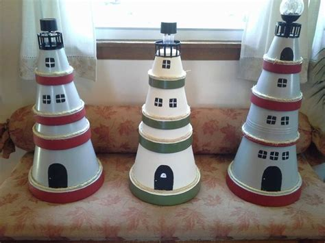 lighthouse craft project best 25 clay pot lighthouse ideas on diy