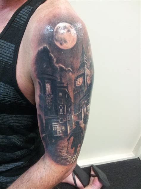 tattoo london road gravesend tattoo london road gravesend london street theme tattoo by