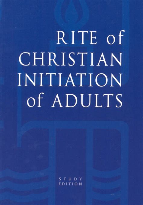 christian initiation books rite of christian initiation of adults