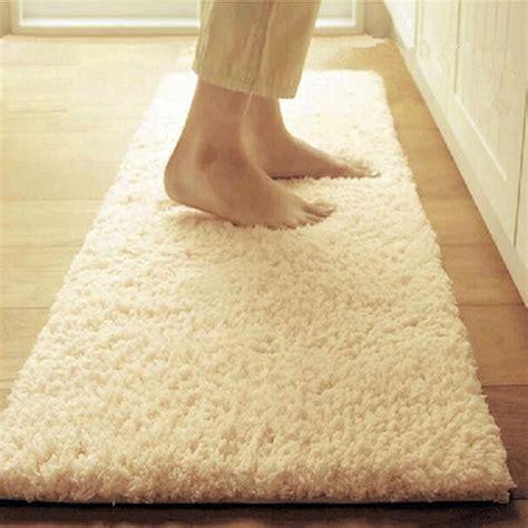 Karpet Lantai 205x240 Cm 60 120cm coral fleece bathroom mats large fast drying absorbent doormat floor non slip