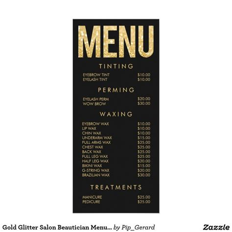 25 best ideas about salon menu on hair salon