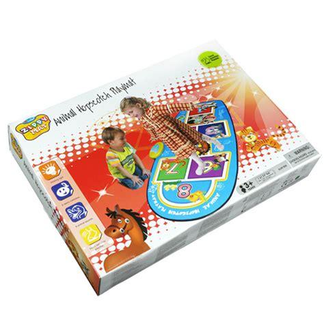 Playmat Bermain Animal Hopscotch Baterai animal hopscotch mat slw959 sunlin