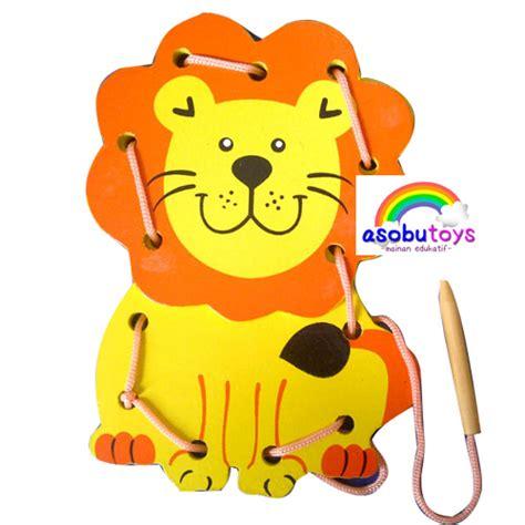 Papan Jahit Hewan 8 Bentuk asobu toys