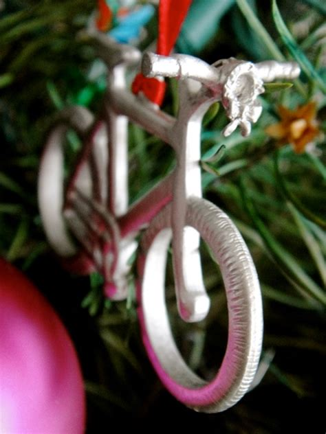 bicycle art christmas tree decorations every cyclist should