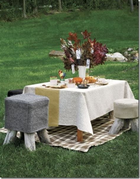 outdoor table ideas 30 outdoor thanksgiving dinner d 233 cor ideas digsdigs