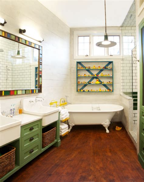 whimsical bathroom eclectic bathroom chicago by