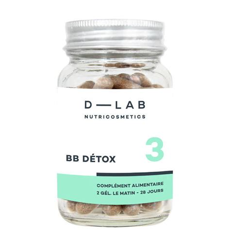Calm And Detox For Skin Herbal Pill by Skin Detox Supplement D Lab