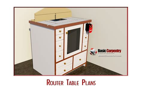 custom router table plans free