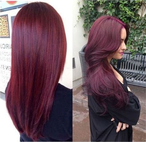 25 best ideas about raspberry hair color on