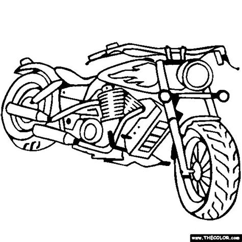 coloring pages of cars and motorcycles chopper motorcycle coloring pages cars