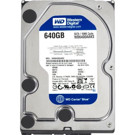 Wdc Purple 6tb 64mb Sata3 7200 Rpm For Cctv Wd60purx storage drives western digital caviar blue