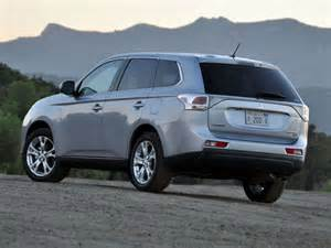 Mitsubishi Outlander Crossover 2014 Mitsubishi Outlander Crossover Suv Road Test And