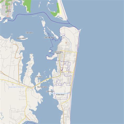 amelia island map of florida amelia island map free printable maps