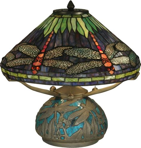 dale dragonfly l shade dale table l dragonfly shade base emerald
