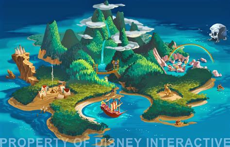 neverland map neverland map maps and pan quotes on