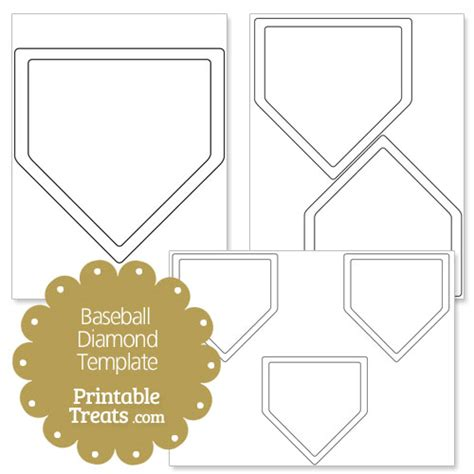 baseball template printable printable baseball shape template printable