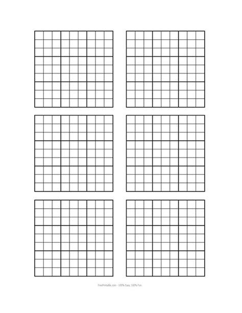 blank sudoku grid the world s catalog of ideas