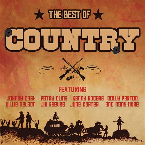 various artists the best of country not now music