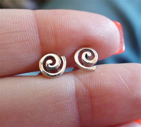 925 Sterling Silver Spiral Earring sterling silver cascading spiral earrings