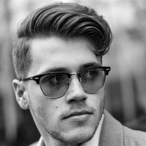 what length of hair for comb over 25 classic taper haircuts men s haircuts hairstyles 2017