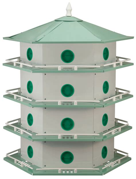 martin house outdoor purple martin aluminum bird house feeder