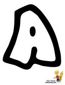 free alphabet abc coloring pages preschool