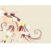 Flower Artistic Drawings With Hair Powerpoint Templates