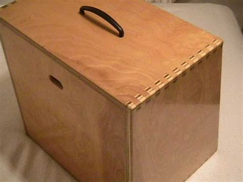 woodworking finger joints looking to make a wood tackle box woodworking