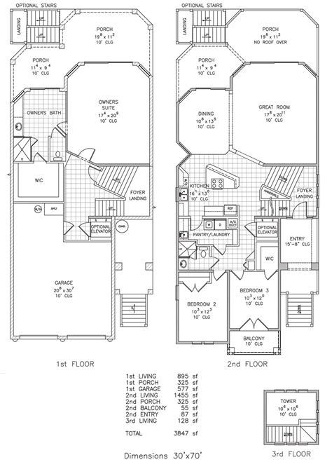 seashore getaway beachfront floor plan palm
