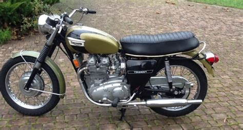 Triumph Motorrad Importieren by 1972 Triumph Motorcycles Trident 750 Classic Driver Market