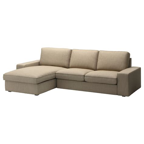 kivik sofa and chaise lounge kivik loveseat and chaise lounge isunda beige ikea
