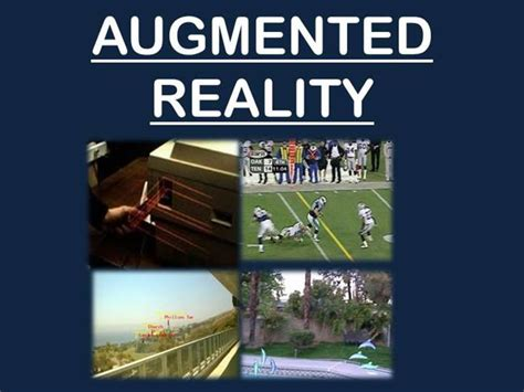 Augmented Reality Seminar 1 Authorstream Augmented Reality Ppt Template